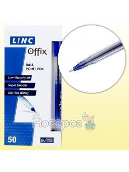 Ручка Linс Offix Trisys шариковая синяя 411978