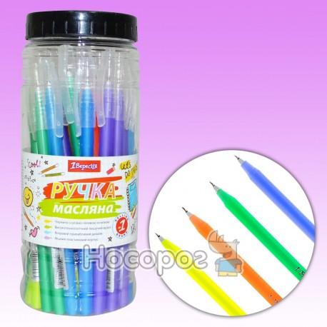 Ручка шариковая 1 Вересня Radium синяя 411053