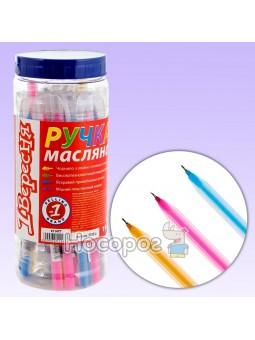 Ручка шариковая 1Вересня Natural синяя 411477