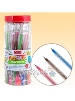 Ручка шариковая 1 Вересня Snowy синяя 411828