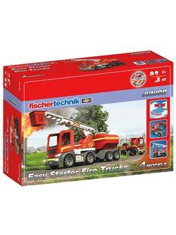 Конструктор fisсhertechnik JUNIOR Easy Starter Пожарные машины [FT-554193]