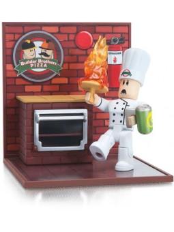 Игровая коллекционная фигурка Jazwares Roblox Desktop Series Work At A Pizza Place: Fired [ROB0262]