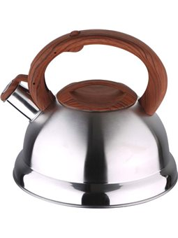 Чайник со свистком Wellberg Potent из нержаве