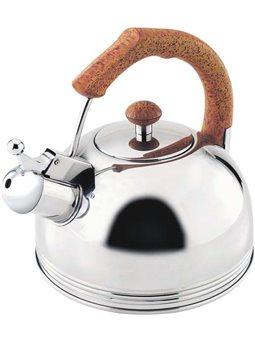 Чайник со свистком Wellberg из нержавеющей стали 2.3 л (WB-509)