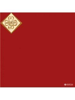 Салфетки столовые Luxy трехслойные 33х33 cм 20 шт Бордовые (4820012342891)