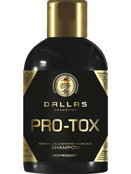 Шампунь для восстановления структуры волос Dallas Hair Pro-tox с коллагеном и гиалуроновой кислотой 1 л (4260637723314)