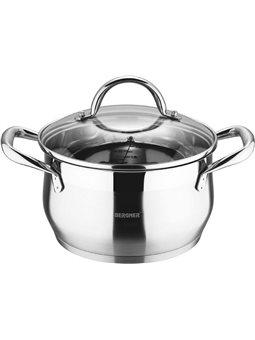 Кастрюля Bergner Gourmet с крышкой 2.3 л (BG-