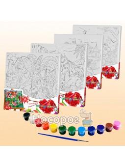 Креативное творчество роспись на полотне Canvas Painting 5 MIX PX-05-01,02,03,04,05