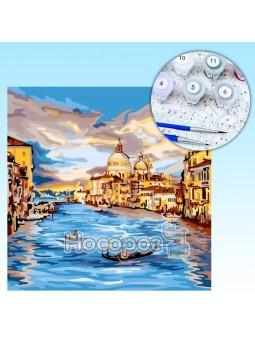 Креативное творчество Картина по номерам на холсте №4 Венеция KpN-02-04U