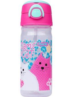 """Бутылка для воды 1Вересня """"I am a cat"""", 450 мл (707370) [5056137178711]"""