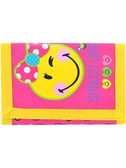 Кошелек YES Smiley girl, 25*12.5 (531933) [5056137127627]