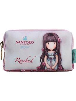 Кошелек неопреновый W-01 ''Santoro Rosebud'' (532677) [5056137121021]
