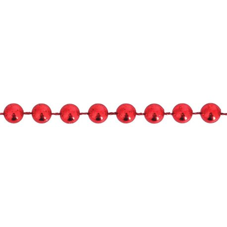 Бусы Yes! Fun новогодние 4мм*3м, красные (971986) [5009079719863]
