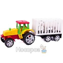 Трактор А 900 с прицепом