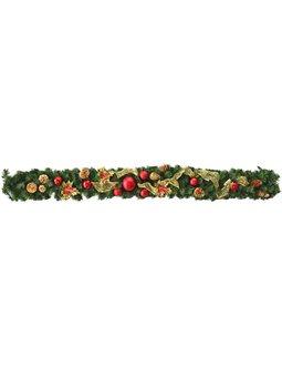 """Елочная ветка Yes! Fun 1.50 м с украшением """"Рождественские традиции"""" (960374) [4820079603744]"""