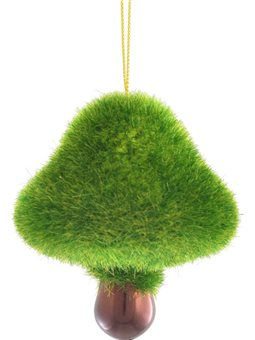 """Игрушка Yes! Fun новогодняя """"Лесной гриб"""" d-5.5 см, зеленый (972910) [5056137109579]"""