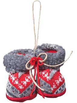 """Новогодняя подвеска Yes! Fun """"Сапожки рождественские"""", h-5 см (973463) [5056137157853]"""