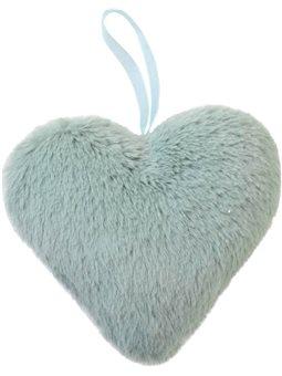 Сердце Yes! Fun пушистое ментоловое, 15 см (973555) [5056137186464]