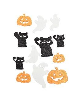 Набор декоративных наклеек Yes! Fun c глиттером для Хэллоуина № 5, 12 шт. (973535) [5056137185610]