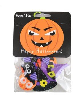 Набор декоративных наклеек Yes! Fun из фетра для Хэллоуина № 1, 12 шт. (973271) [5056137144198]
