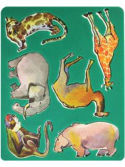 """Трафарет """"Животные Африки"""" 9С486-08 (370162) [4601185001583]"""