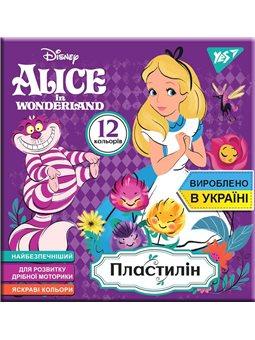 """Пластилин YES """"Alice"""", 12цв, 240г, Украина (540564) [4823091908767]"""