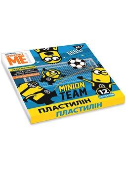 "Пластилин YES ""Minions"", 12цв, 240г, Украина (540572) [4823091909160]"