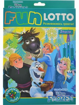"""Игровой набор """"Funny loto"""" """"Frozen"""" (953676) [4823099536764]"""