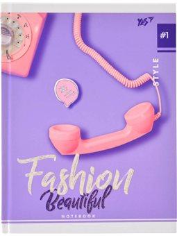 """Блокнот 140*185/96 ЛИН. 7БЦ """"Fashion beautiful"""" YES (151470) [4823092236630]"""