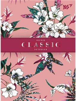"""Блокнот А6/64 ТЧК. 7БЦ """"Flower classic"""" YES (151497) [4823092236104]"""