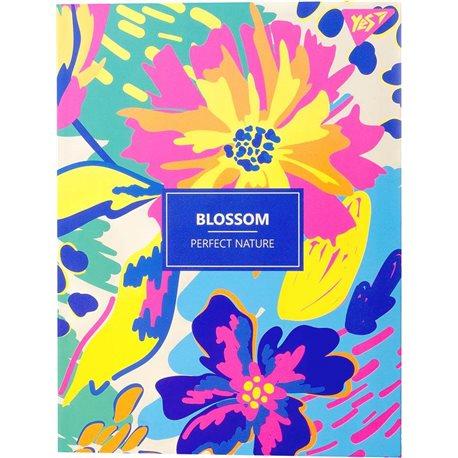 "Блокнот для записей А5/64 кл. инт, неон+лам.софт-тач ""BLOSSOM"" YES (151632) [4823092253590]"
