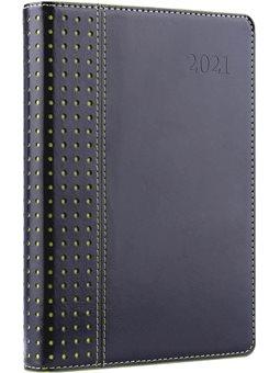 """Ежедневник А5 дат. Leo Planner """"Destiny"""", 2021, тверд., 384+2 стр., черный (252022) [5056137173327]"""