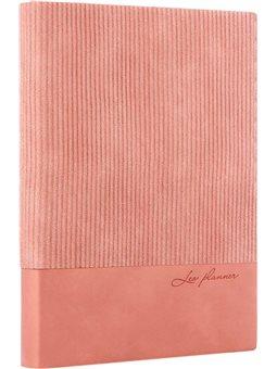 "Ежедневник А5 недат Leo Planner ""Velvet"", мягкий, 352стр., розовый (252030) [5056137173242]"