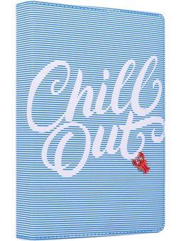 """Ежедневник А5 недат. YES """"Chill out"""", тверд., 432 стр., голубой (252045) [5056137174874]"""