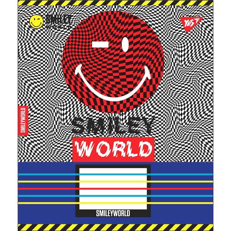 Фото А5/12 лин. YES SMILEY WORLD, тетрадь учен. (764504) [4823092243492]
