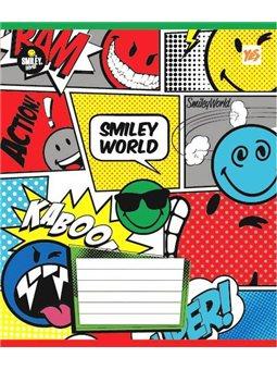 А5/12 лин. YES Smiley World, тетрадь ученич. (761394) [4823092224552]