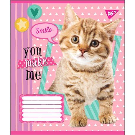 А5/18 лин. YES YOU MAKE ME SMILE, тетрадь учен. (764688) [4823092256102]