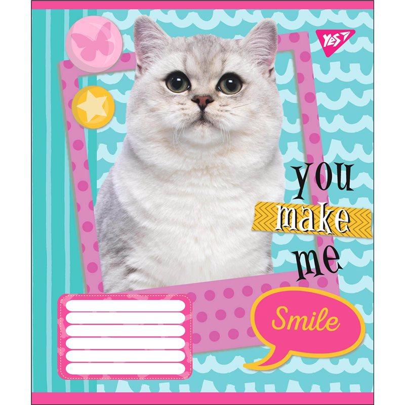 Фото А5/18 лин. YES YOU MAKE ME SMILE, тетрадь учен. (764688) [4823092256102]