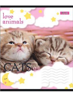 А5/24 кл. 1В LOVE ANIMALS, тетрадь учен. (764562) [4823092251398]