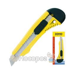 Нож канцелярский SOHO KC38/SH-3818 большой, 18mm