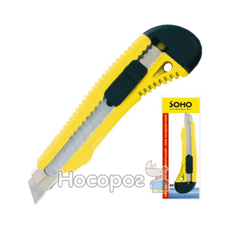 Фото Нож канцелярский SOHO KC38/SH-3818 большой, 18mm