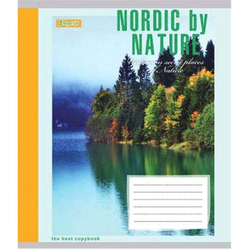 Фото А5/96 кл. 1В NORDIC BY NATURE, тетрадь для записей (763679) [4823092244727]