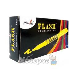 Маркер текстовый 1110-2511 Flash Highlighter желтый