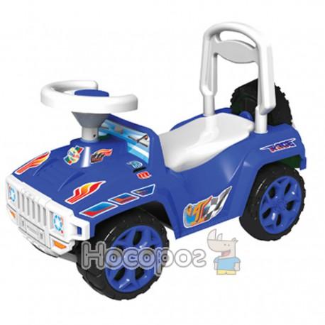 Машинка для катання ОРІОНЧИК синій 419
