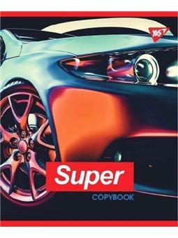 """Тетрадь для записей А5/24 лин. YES """"SUPER CAR"""" иридиум+УФ.спл. (764323) [4823092252951]"""