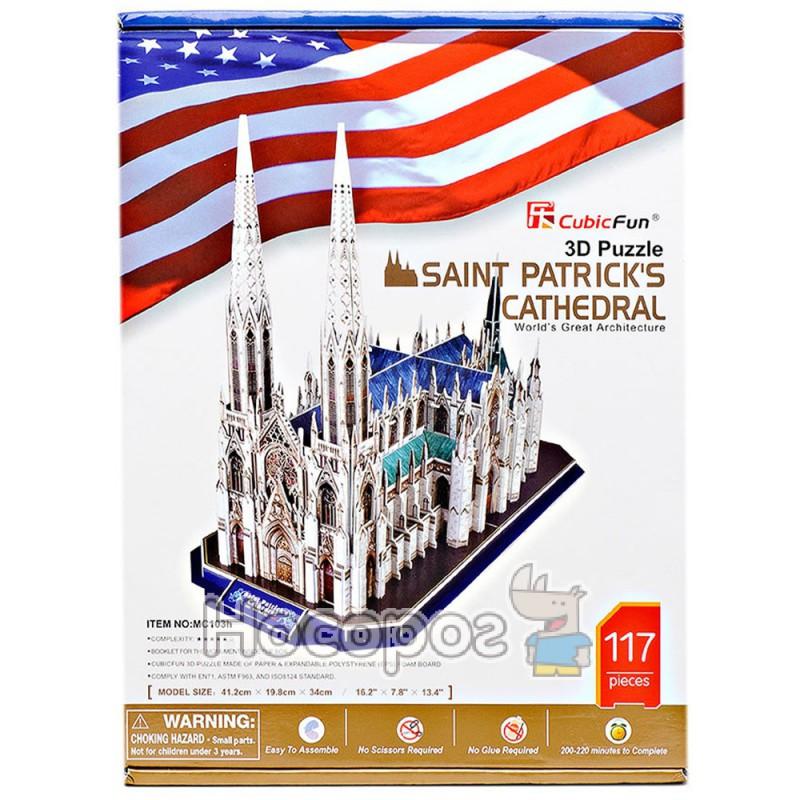 Фото Пазл 3D Собор святого Патрика
