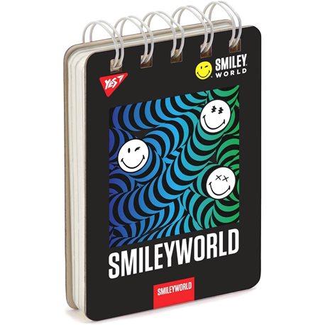 "Тетрадь для записей А7/80 од.спираль, ""SMILEY_WORLD"" YES (681756) [4823092258779]"