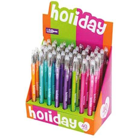 """Ручка гелевая """"Holiday"""" 0,5мм, микс цветов (420316) [6909074203161]"""