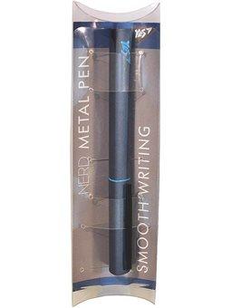 """Ручка шариковая YES """"Nerd"""" blue, 0,7 мм, синяя (411963) [5056137175765]"""