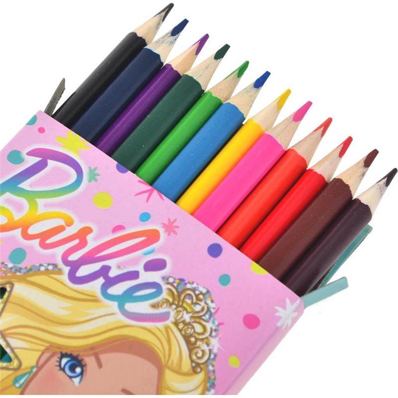 """Фото Карандаши 12/24 цв. """"Barbie"""" (290551) [5056137194483]"""
